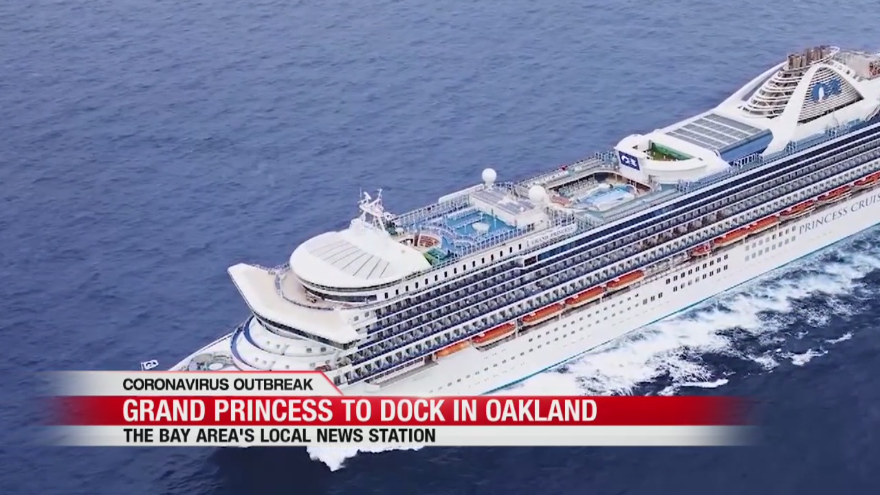 Image result for grand princess cruise ship dock at oakland