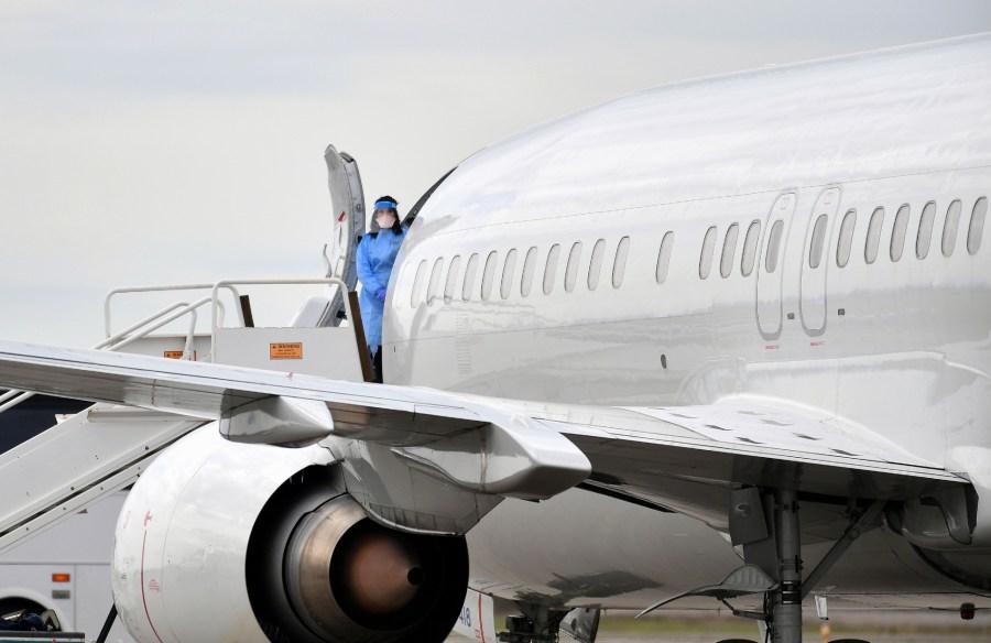 covid plane