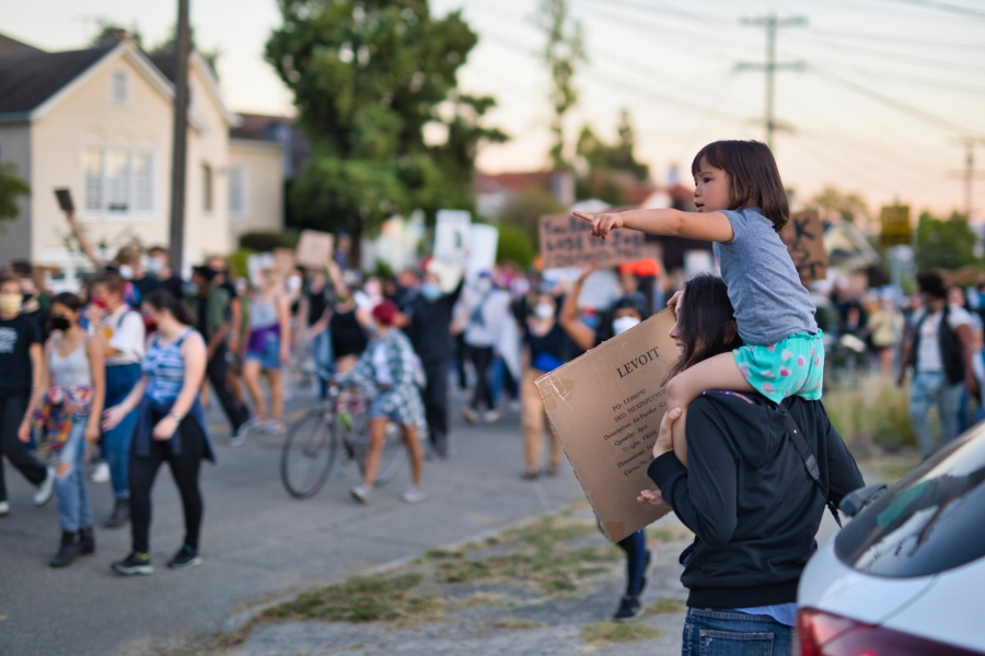 Oakland youth march June 10