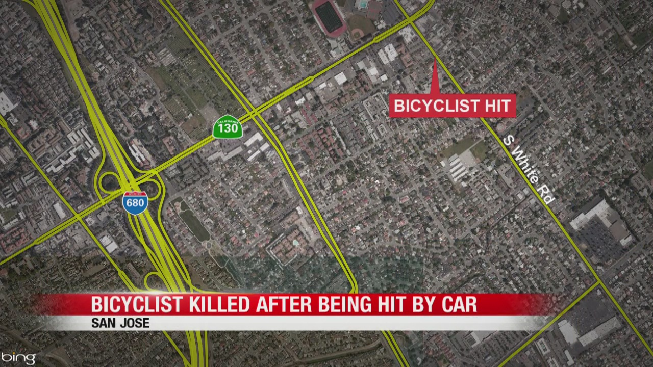 Bicyclist struck and killed by vehicle in San Jose