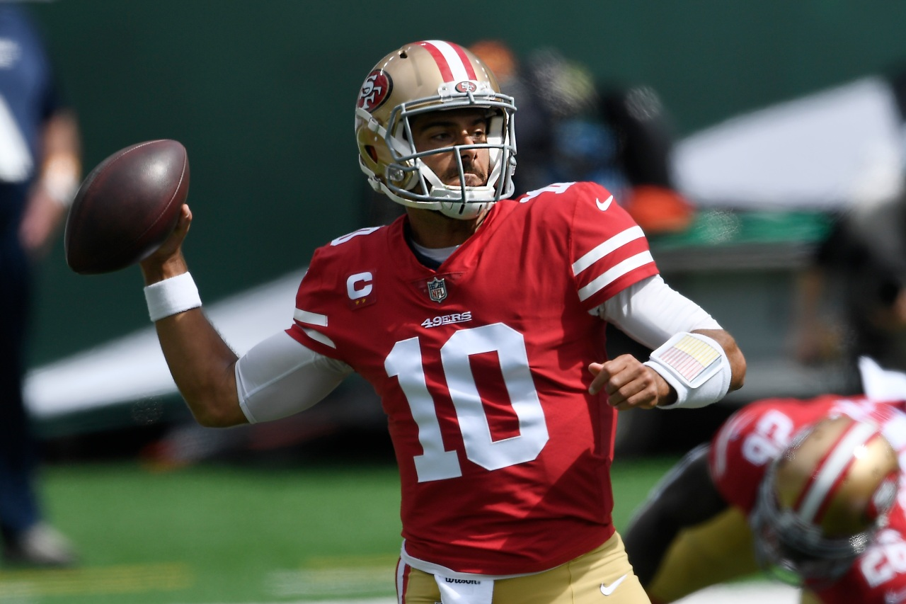 49ers: Kyle Shanahan isn't ruling out QB Jimmy Garoppolo for Week 3