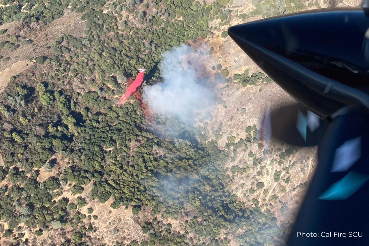 Crews battling small fire at San Jose's Alum Rock Park