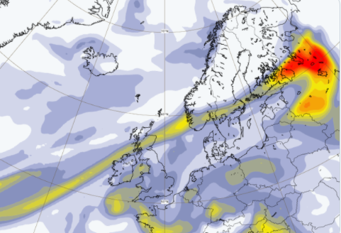 West Coast wildfire smoke has crossed the Atlantic, now reaches Finland