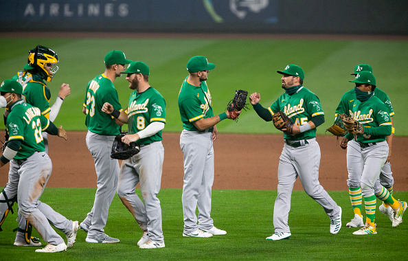 Oakland Athletics clinch AL West, first time since 2013