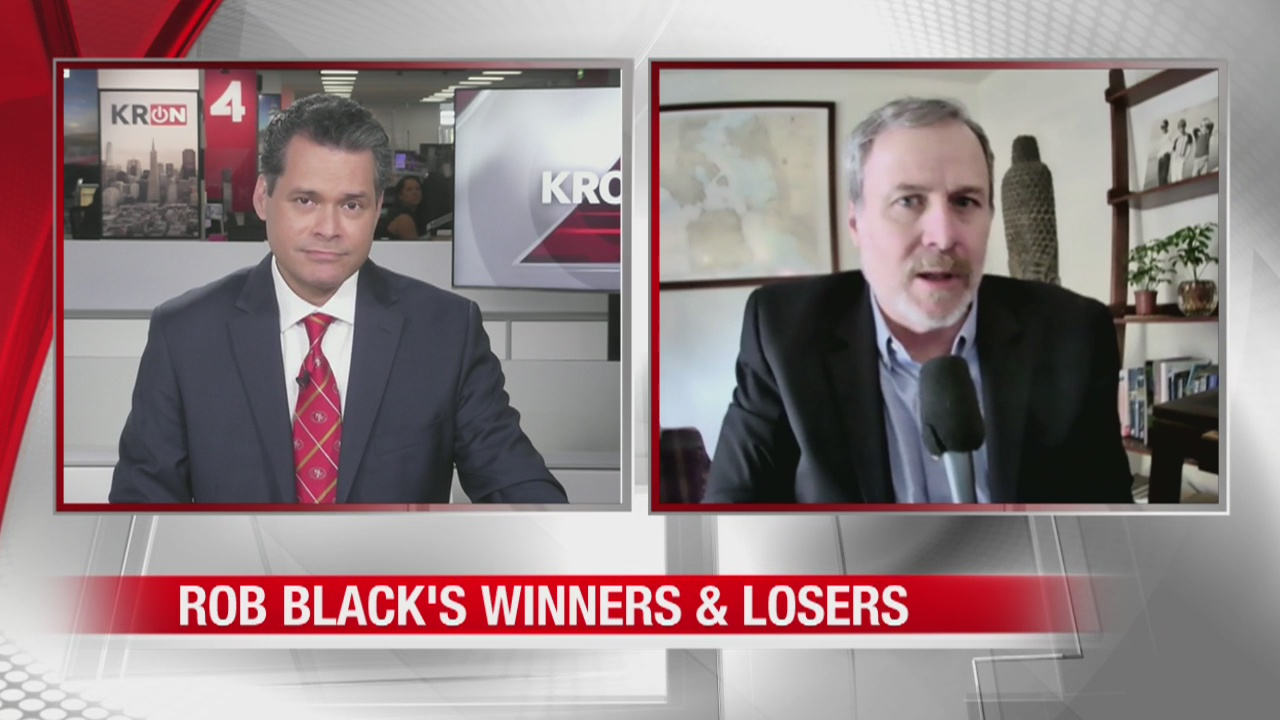 Rob Black's Winners & Losers: Dow drops by 800 points