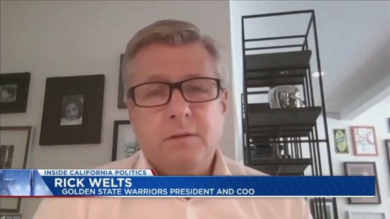 Extended Interview: Golden State Warriors President Rick Welts on Inside California Politics