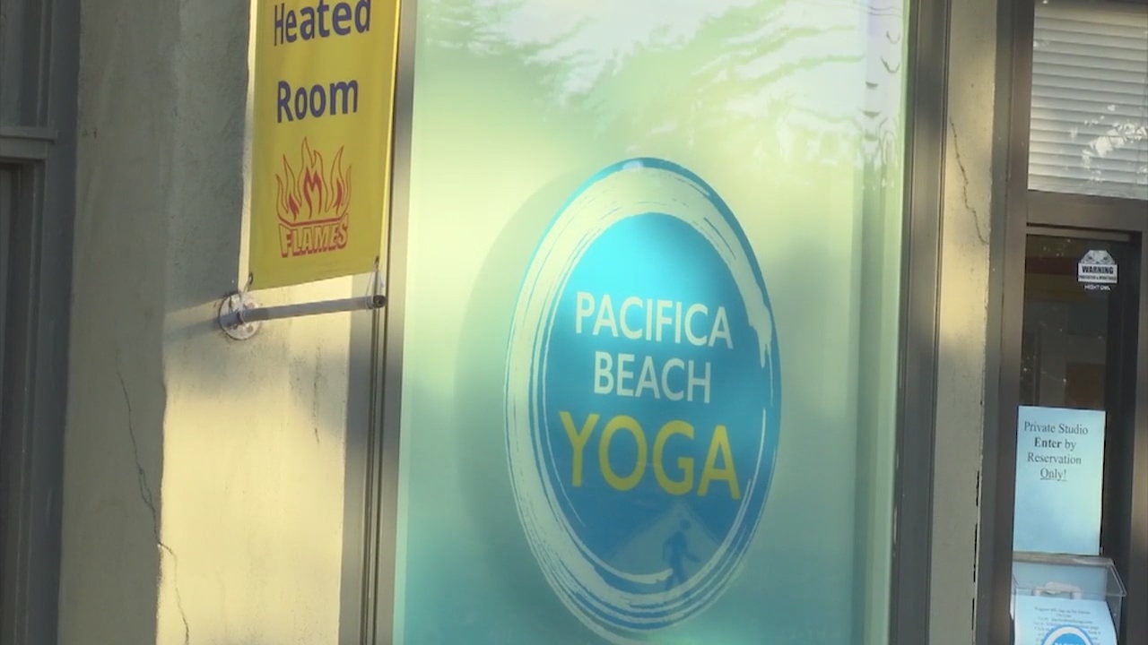 Warning citation issued to Pacifica yoga studio for mask violation