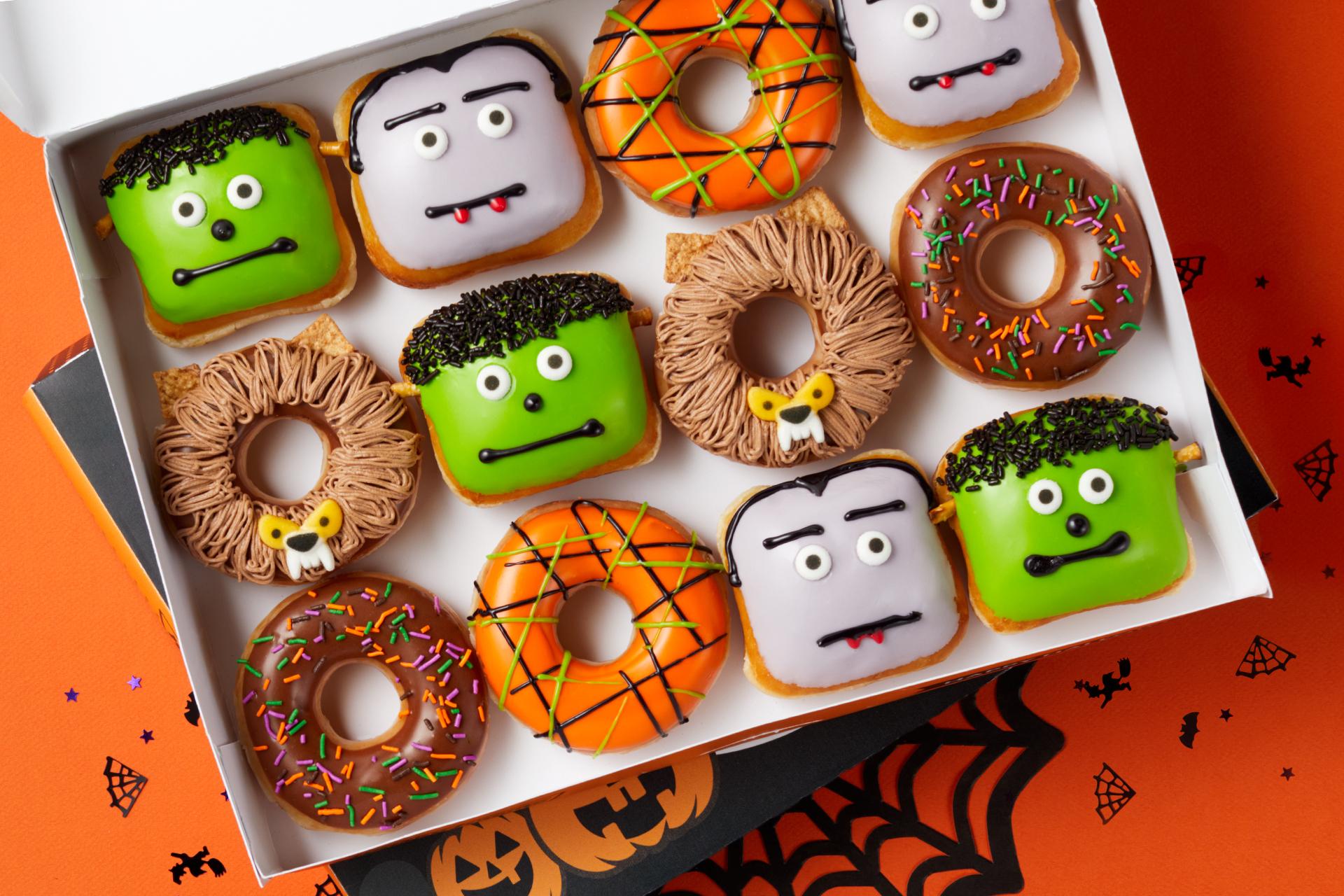 Halloween Food Deals 2020 Idaho Falls Krispy Kreme drops new Halloween doughnuts, $1 dozen deal | KRON4