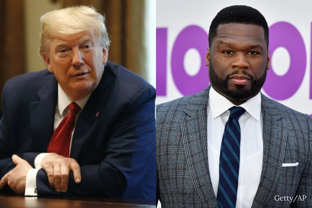 'Bankrupt' 50 Cent vows to leave US if Trump loses election