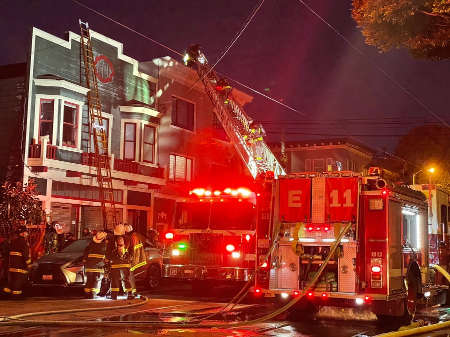 <div>17 people displaced by New Year's Day fire in San Francisco</div>