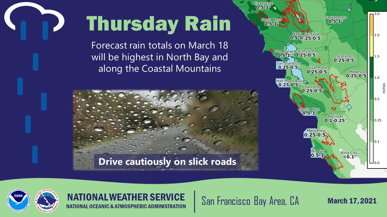 Track the rain: Storm to bring Bay Area showers, Sierra snow