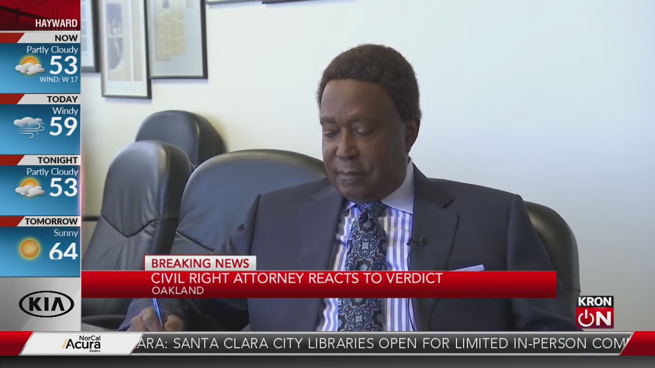'Justice can be served': Civil rights attorney reacts to Chauvin verdict