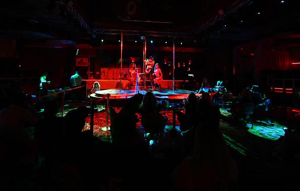 las vegas strip club