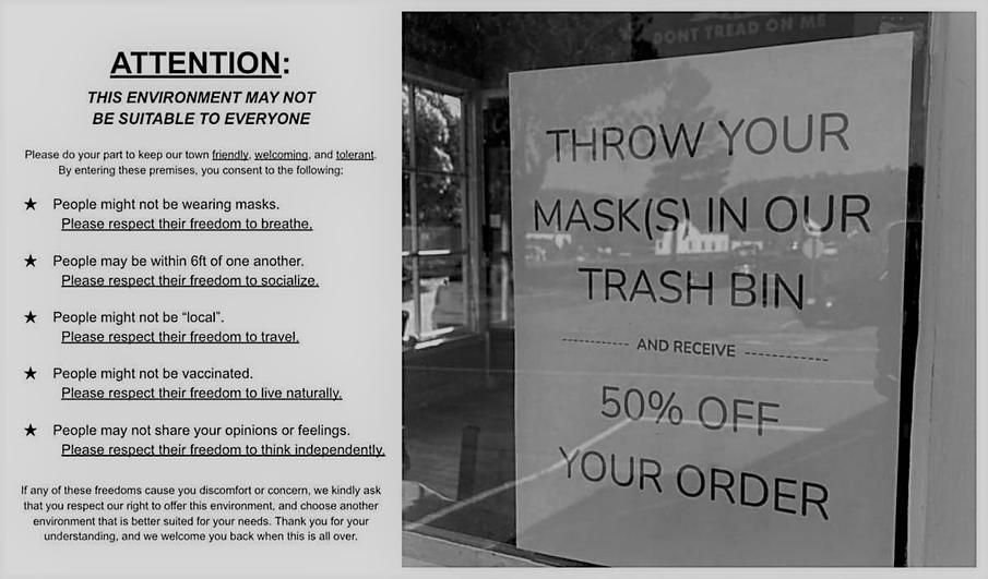 NorCal café offers 50% off to customers who throw away their masks