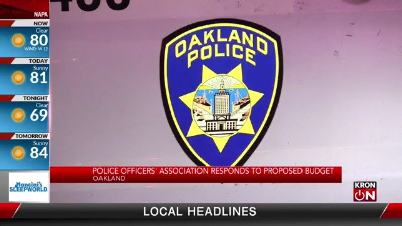 Oakland Police Officers Association responds to proposed budget