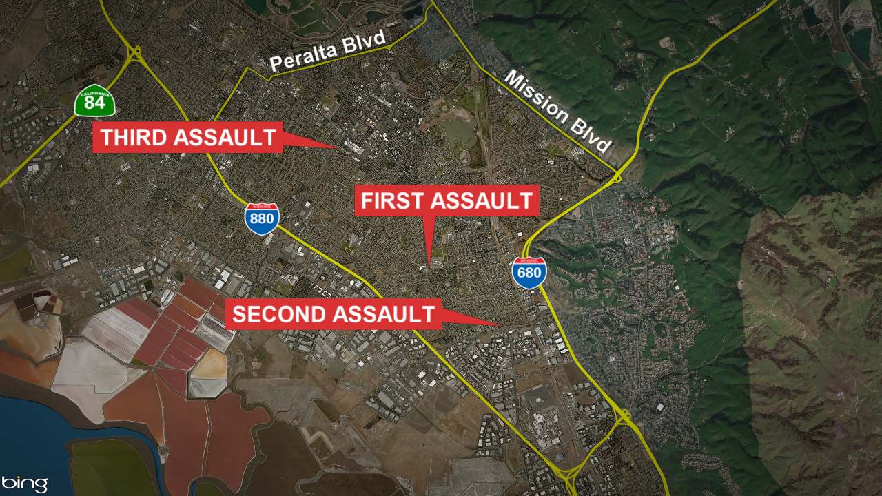 28-year-old faces several charges after sexually assaulting 3 women in Fremont