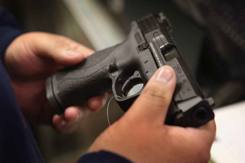 Boom in legal gun sales as crime increases in cities across America