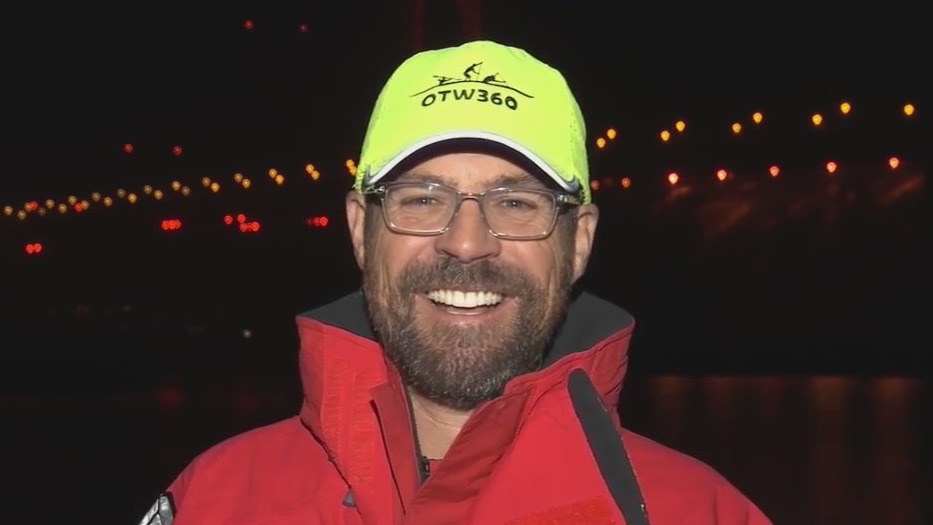 Solo kayaker embarks on journey from San Francisco to Hawaii