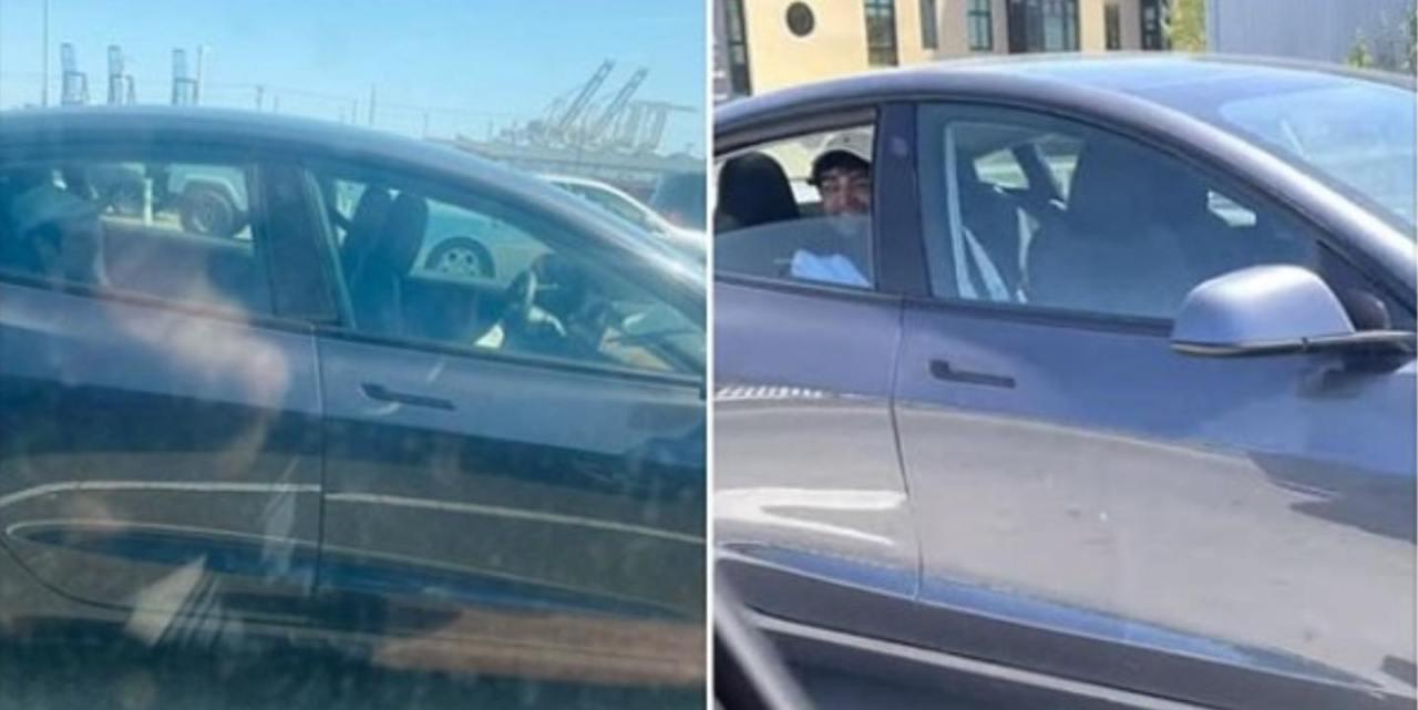 Reckless backseat Tesla driver arrested: CHP - KRON4