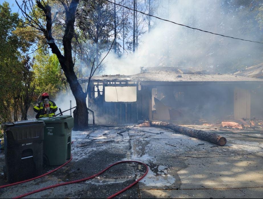 Crews contain fire at Walnut Creek senior care facility