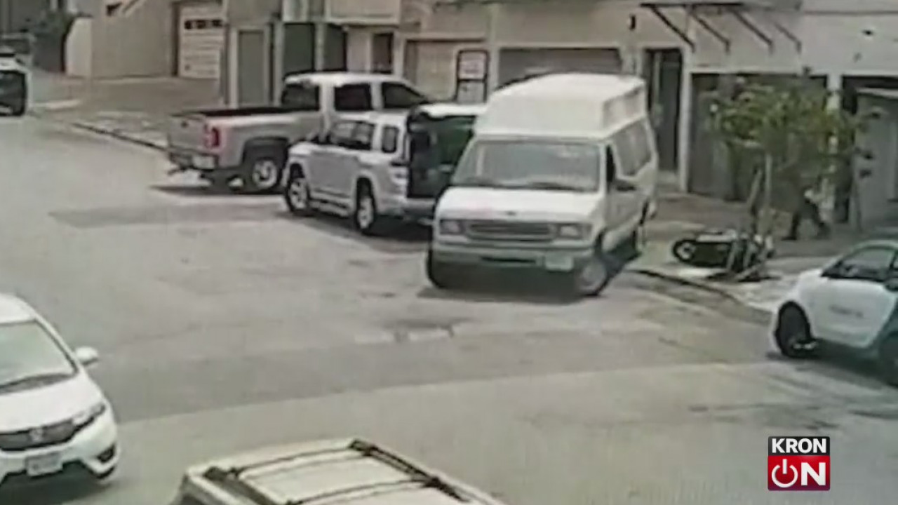 Neighbor witnesses reckless driver crashing into parked cars in SF's Richmond District
