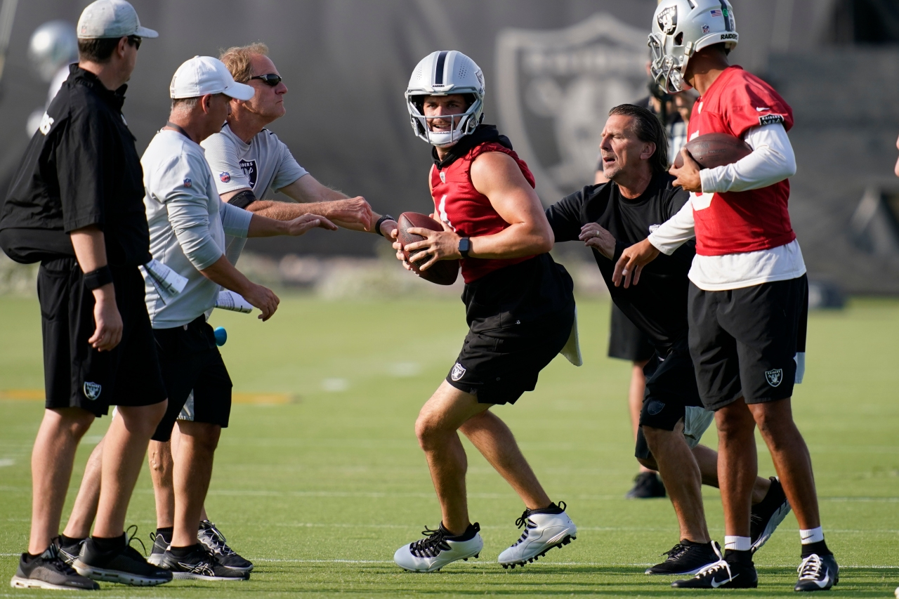 WEB EXTRA: Raiders prepare for opening of Training Camp on Wednesday