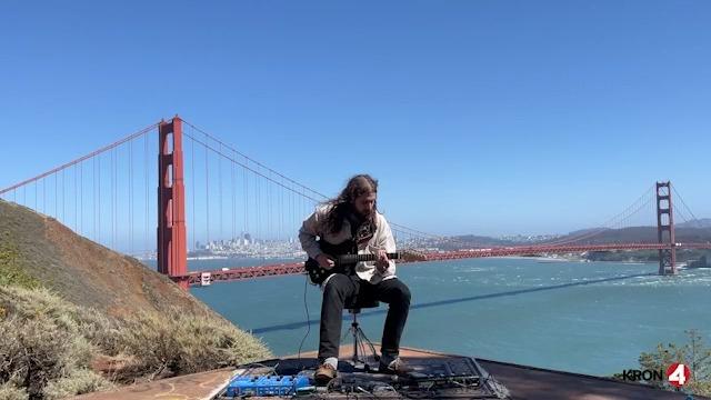 Musician records duet featuring the Golden Gate Bridge