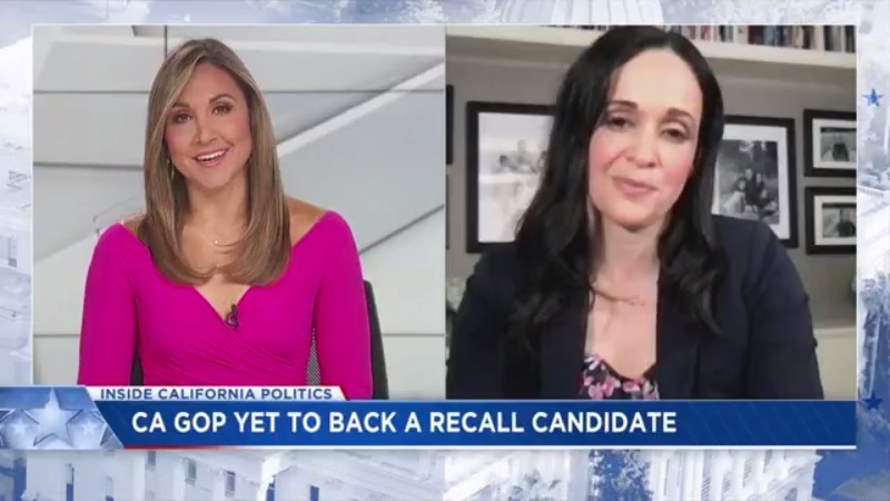 GOP state chairman has yet to back a recall candidate