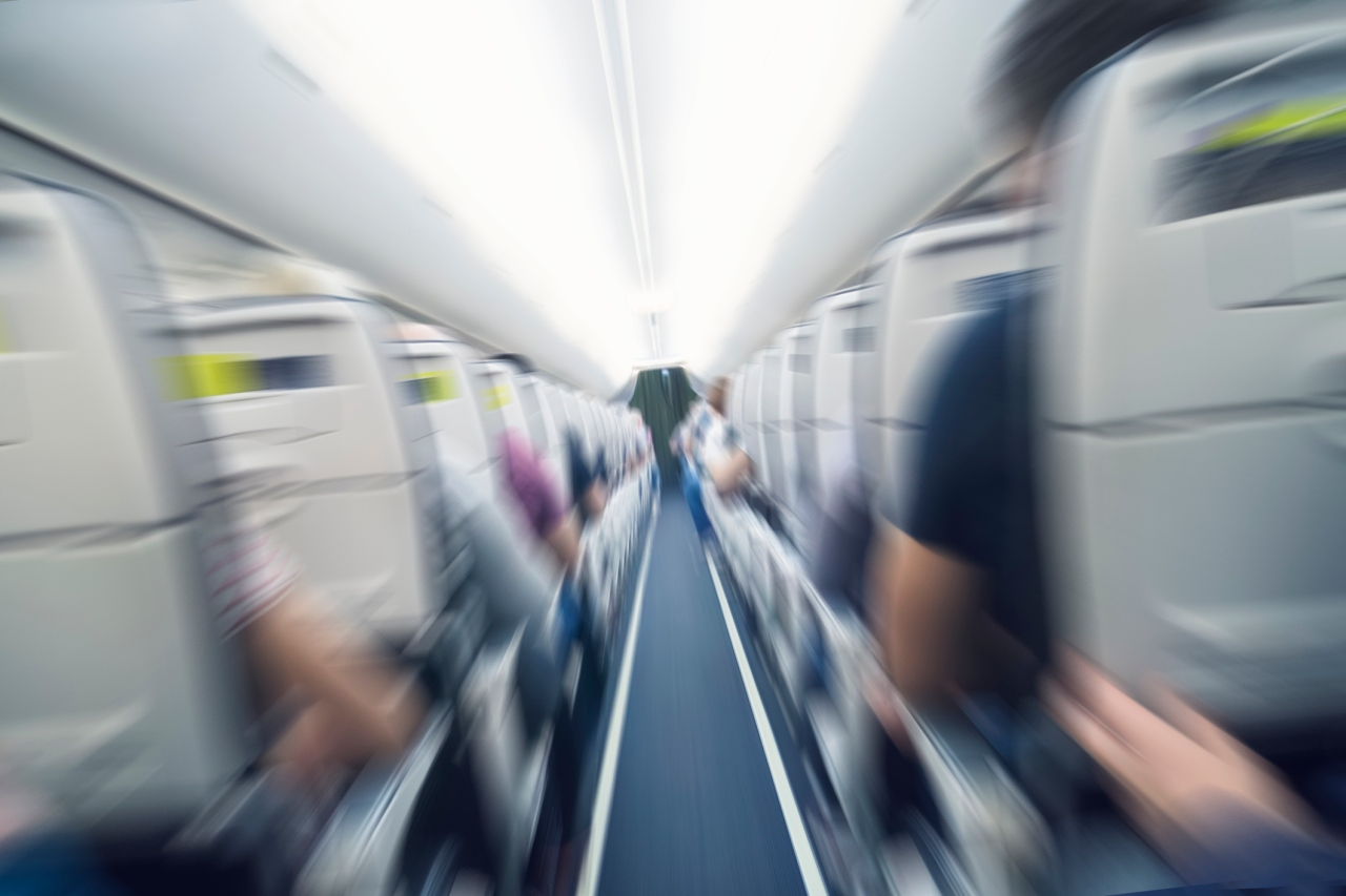 Picture - Rate of unruly passenger incidents on flights drops: FAA