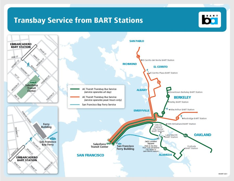 Person fatally hit by train on BART tracks