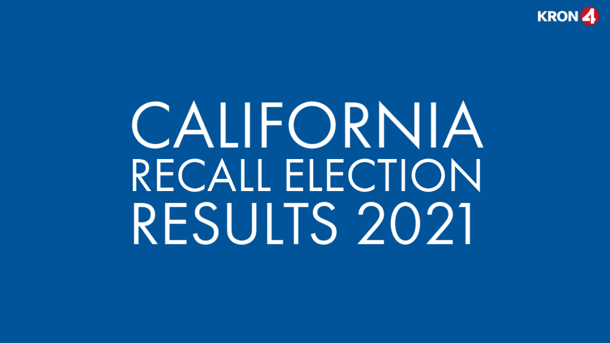 Picture - Recall election: Napa County