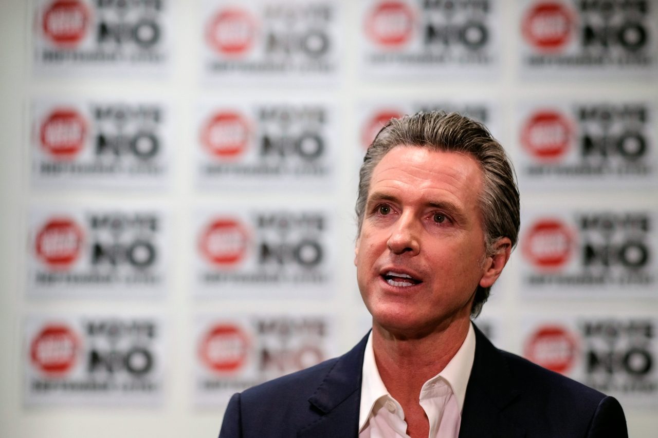 Picture - Majority of California voters would re-elect Gov. Newsom in 2022: exit poll